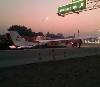 Airplane Lands on Interstate 84 in Idaho During Morning Rush Hour