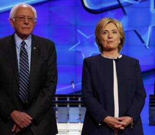 Clinton and Sanders Spar at Start of Democratic Debate