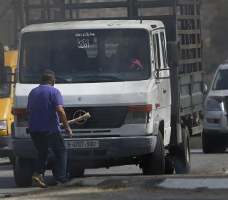 Palestinian Truck Driver Runs Over Israeli During West Bank Clashes