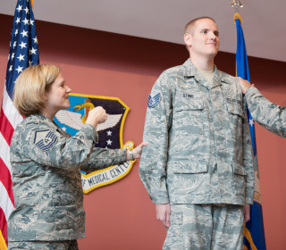French Train Hero Spencer Stone Earns Promotion to Staff Sergeant