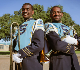 Autistic Brothers Excel in Southern University Marching Band