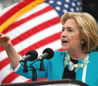 Clinton Gets New Backer, Touts $275 Billion Infrastructure Plan