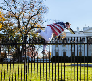 Alleged White House Fence Jumper Left 'Suicide Note'