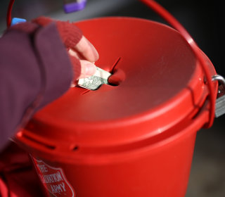 Minnesota Couple Drops $500,000 Check Into Salvation Army Kettle