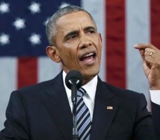 Obama Offers Kudos and Caution in Final SOTU