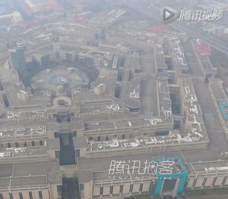No-One Wants to Shop in China's Pentagon-Inspired Mall
