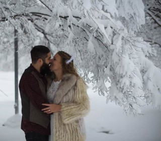Winter Storm Jonas Becomes Wedding Venue for Nashville Couple