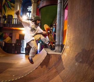 Skaters Transform Closed Church into Shredding Sanctuary
