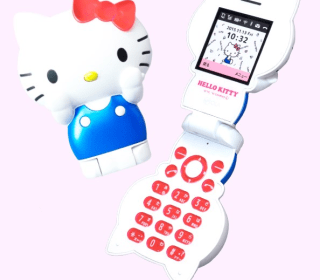 Hello, Kitty? This Not-So-Smart Phone is Adorable