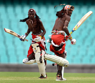 Maasai Warriors Take Up Cricket for Social Change