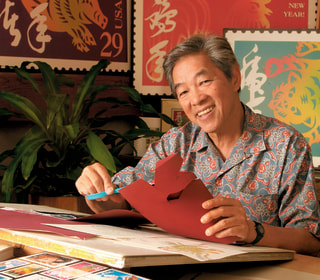 New Lunar New Year Stamp Draws Inspiration from 'Pioneer in the Hawaii Design Industry'