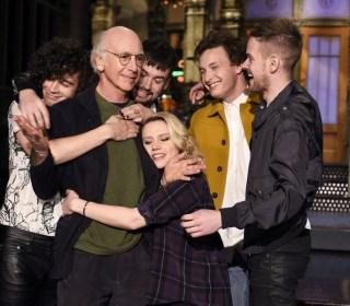 Bernie Sanders Joins Larry David on 'Saturday Night Live'