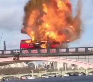 Jitters in London as Bus Explodes for Jackie Chan Film 'The Foreigner'