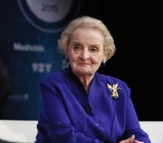 Madeleine Albright: I Didn't Mean to Insult Women Supporting Sanders