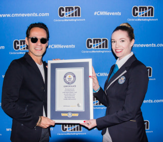 Marc Anthony Just Beat a Guinness World Record