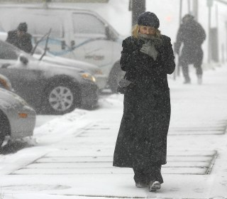 Blizzard Hits New England Day Before New Hampshire Primary
