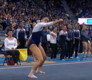 UCLA Gymnast Whips and Nae Naes in Her Floor Routine