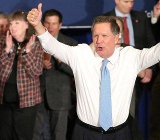John Kasich Says He Feels 'Gratified' After New Hampshire Primary Finish