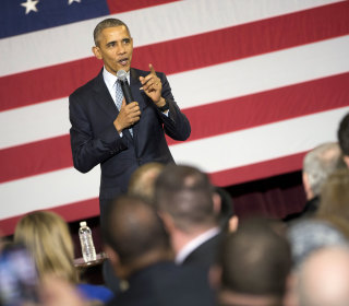 Obama on Partisan Divide: 'I Could Have Done That a Little Better'