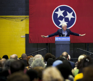 Tales From the Trail: Bill Clinton Courts Black Voters