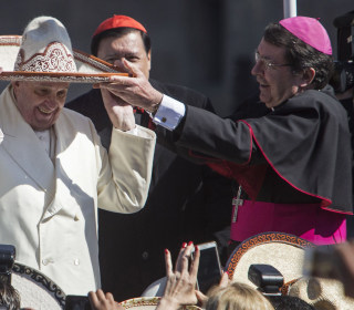 Pope Francis Arrives in Mexico for Five-Day Visit