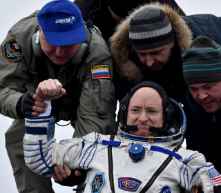 Mark Kelly: Welcome Back to the Planet After Year in Space, Scott