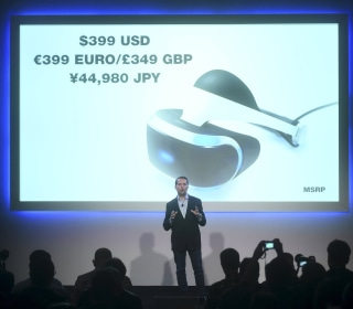 Sony PlayStation Virtual Reality Headset to Launch in Fall