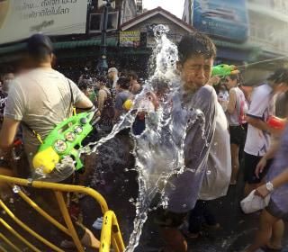 Thailand's Songkran Water Festival Begins Amid Regional Drought