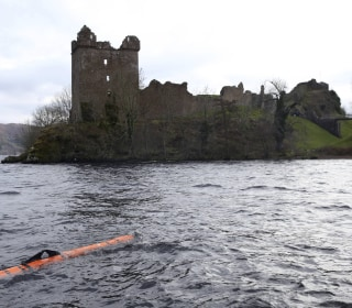 Underwater Robot Finds 'Loch Ness Monster' — Kind Of
