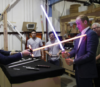 May the Force Be With… The Royals: Princes Visit Star Wars Set