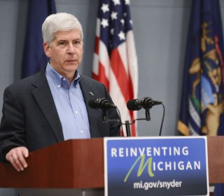 Michigan Governor Rick Snyder Hasn't Been Grilled Over Flint