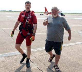 Cooler Keeps Fishing Buddies Afloat During Galveston Bay Ordeal
