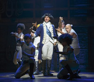Christopher Jackson Plays Presidential in Lin-Manuel Miranda's 'Hamilton'