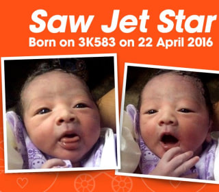 Baby Born Aboard Jetstar Asia Flight Is Named After Airline