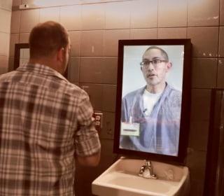 Man in the Mirror Sends Shocking Anti-Drunken-Driving Message