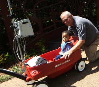 This Grandfather's Wagons Put Smiles on the Faces of Sick Kids