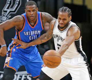 Refs Admit to Missing Late Call as Spurs Fall to Thunder