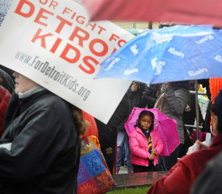 Detroit's Dual Crises Continue: Teacher Sickouts, Water Shutoffs