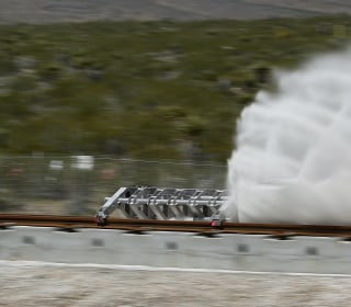 Hyperloop One Tests Futuristic Transport Tech in First-Ever Demo