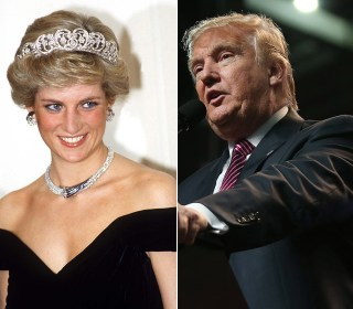 Donald Trump Changes Tune, Denies Lusting Over Princess Diana