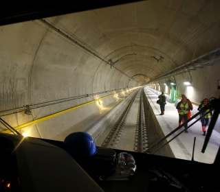Switzerland's Gotthard Train Tunnel Will Be World's Longest, Deepest