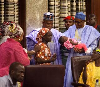 #BringBackOurGirls: Freed Boko Haram Captive Meets Nigerian President