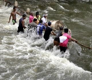 Sri Lanka Hit Hard by Floods, Landslides