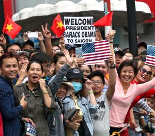 Vietnamese Crowds Shower Love on President Obama