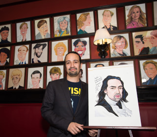 Lin-Manuel Miranda Honored with Legendary Caricature at Sardi's
