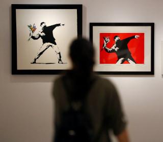 'Unprecedented' Banksy Exhibition Opens in Rome's Palazzo Cipolla Museum