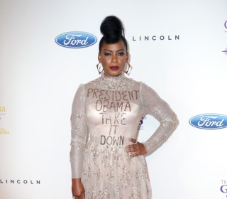 In Red Carpet Fashion, Aunjanue Ellis Beseeches President Obama to Remove Mississippi Flag