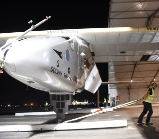 Solar-Powered Plane Lands in Spain After Trans-Atlantic Voyage