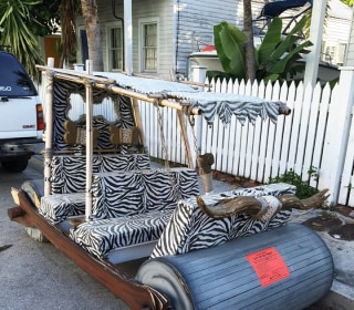 'Flintstones' Footmobile Slapped With Parking Ticket in Key West, Florida