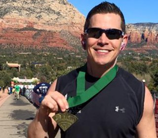 Dad Honors Daughter with Cerebral Palsy by Running Marathons - in All 50 States